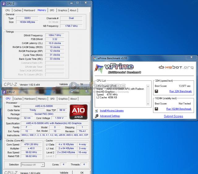 4.8 GHz WPrime 32M