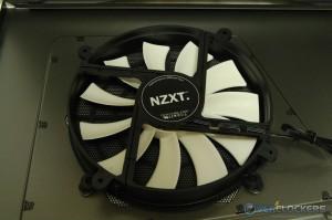 Left Side Panel 200 mm Fan