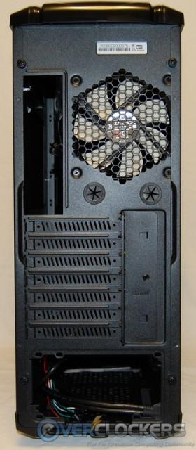 MS800 Case Rear