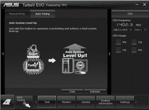 Turbo V Auto Tuning