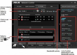 Network iControl EZ Profile