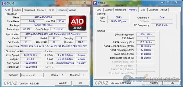 Memory at 2400 MHz