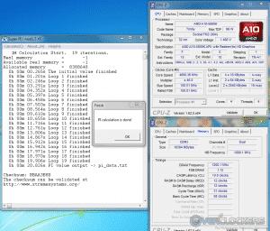 SuperPi 1M @ 4.6 GHZ/2400 MHz Mem