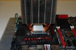 Heatsink Installed