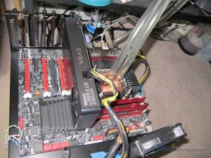 EVGA GTX 650 Ti BOOST SC Installed