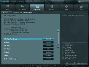 CPU Configuration 1