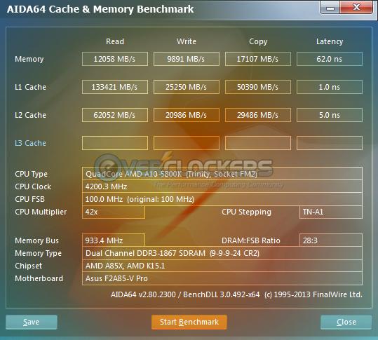 Cache & Memory Benchmark