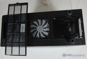 PSU/Bottom Fan Filter Removed