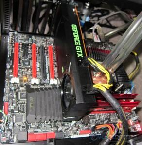 NVIDIA GTX 650 Ti BOOST Installed