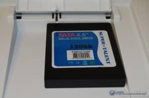 SSD in SATA Dock
