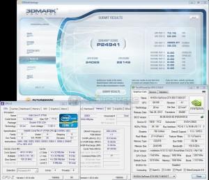 3DMark Vantage +70 / +300