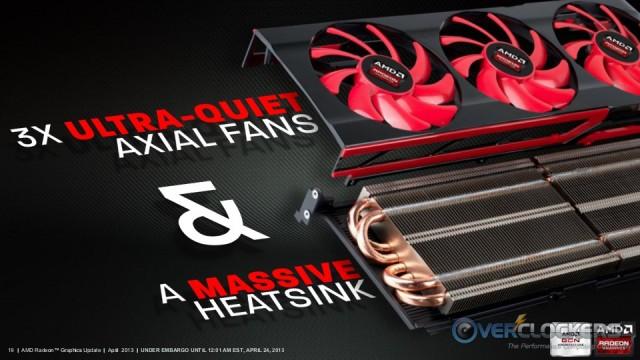 Reference HD 7990 Heatsink