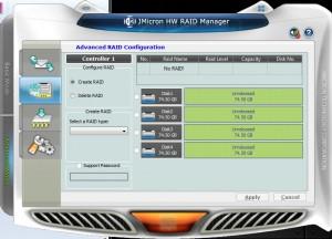 Advanced RAID Setup