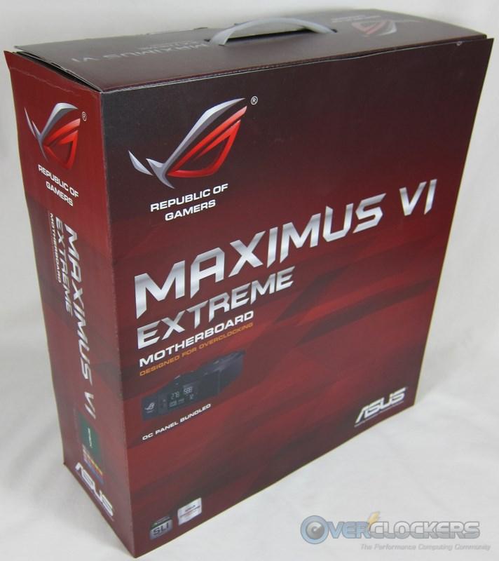 ASUS Maximus VI Extreme Box