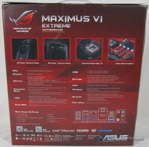 ASUS Maximus VI Extreme Box Rear