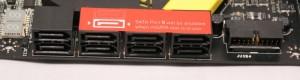SATA Ports - 8x SATA 6GB/s
