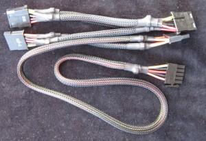 Molex / SATA Combo Cable
