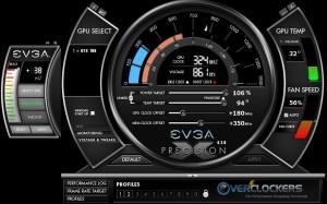 24/7 Overclock - Precision X - +180 MHz / +350 MHz