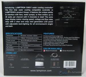 Lamptron CW611 Box Rear