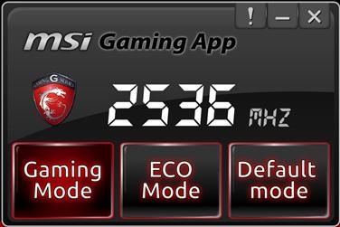 MSi Gaming App