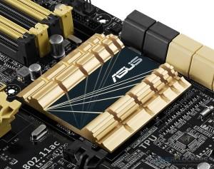 ASUS Z87 Deluxe PCH Heatsink