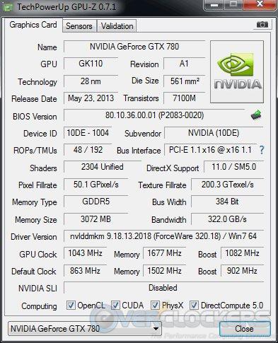 24/7 Overclock - GPUz - +180 MHz / +350 MHz