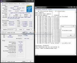 SuperPi 1M @ 5.0 GHz & 192.5 BCLK