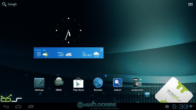 Main Desktop