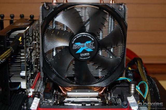CNPS10X Optima Installed