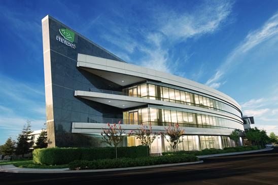 Nvidia Headquarters - Courtesy Nvidia Corp.