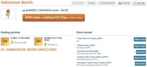 3DMark06 Record