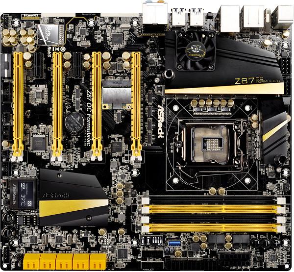 ASRock Z87 OC Formula Motherboard - Image Courtesy ASRock
