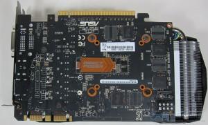 ASUS GTX 760 DirectCU II PCB Rear