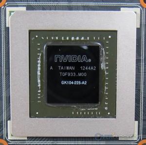 GK 104 GPU