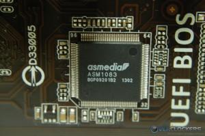 ASM1083 PCI to PCIe Bridge
