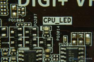 CPU Fault LED
