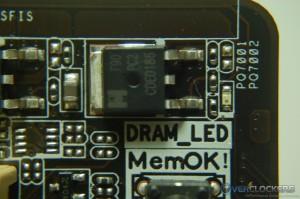 DRAM Fault LED