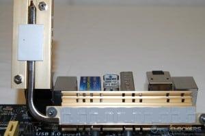 MOSFET/ASM1480 Heatpipe Heatsink