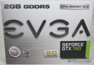 EVGA GTX 760 SC Box