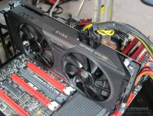 EVGA GTX 760 SC Installed