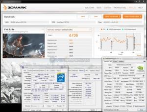 3DMark Fire Strike - 6738