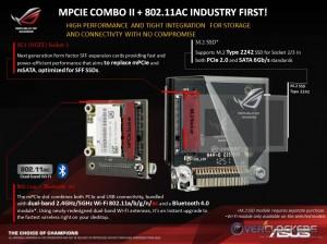 mPCIe Combo II