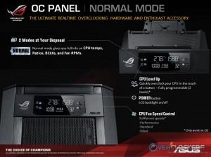 OC Panel Normal Mode