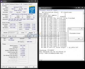 SuperPi 1M @ 5108 MHz