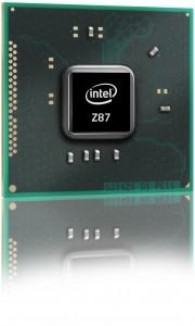 Intel Z87 Chipset - Image Courtesy Bjorn3D.com