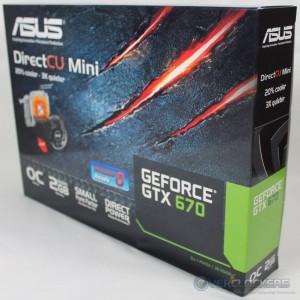 ASUS GTX 670 DirectCU Mini Box