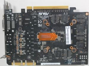 ASUS GTX 670 DirectCU Mini PCB Rear