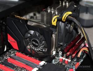 ASUS GTX 670 DirectCU Mini Installed
