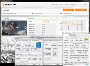 3DMark Fire Strike - 10343