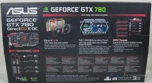 ASUS GTX 780 DirectCU II OC Box Rear